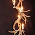deer antler chandelier image