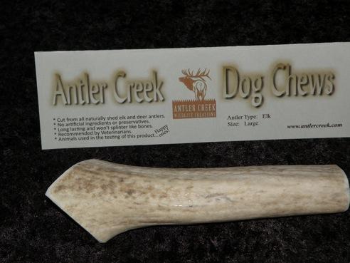 Large antler dog chew