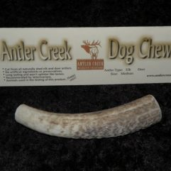 Large antler dog chew image