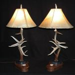 Whitetail deer table lamps