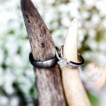 Rustic Wedding Antler Ring Holder