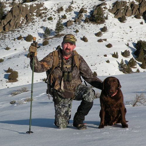 Bryan Antler Hunting with Sage