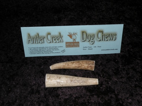 small antler dog chews package image