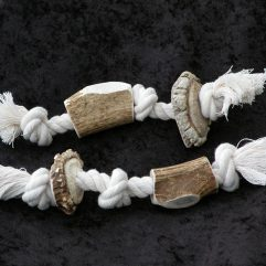 antler rope chews