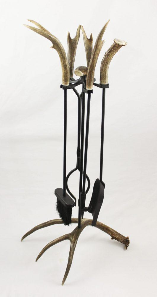 Antler Fireplace Tools