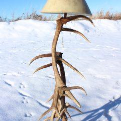 antlercreek elk floor lamp