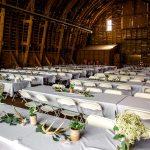 Rustic Wedding Rental antler centerpieces