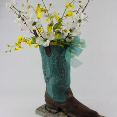 Cowboy_Boot_custom_center_piece_for rustic montana weddings_montana