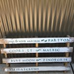 Pallet Sign for rustic montana wedding rentals