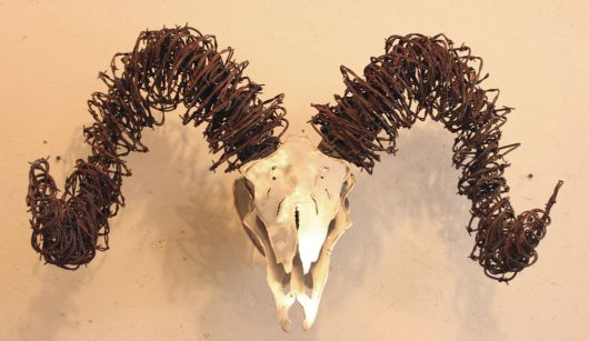 big-horn-sheep-skull-wire-and-metal-sculpture-2