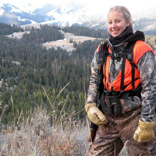 Sara elk hunting